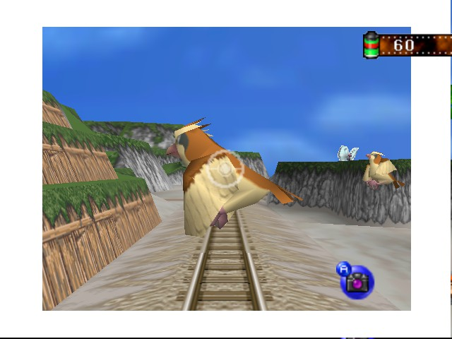 Pokemon Snap - Pretty Pidgeon Pokemon - User Screenshot